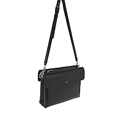 Parfois - Black 'Savage' beauty cross bag