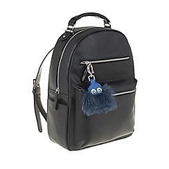 Parfois - Black 'Nylon' fantasy backpack