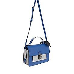 Parfois - Royal Blue 'Nylon' fantasy cross bag