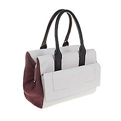 Parfois - Grey 'Nylon' fantasy tote bag