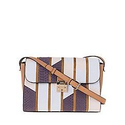 Parfois - Lilac 'Aloe' cross bag