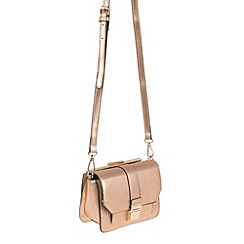 Parfois - Light Pink 'Caturday' cross bag
