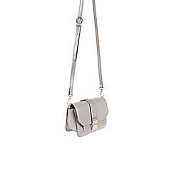 Parfois - Silver 'Caturday' cross bag
