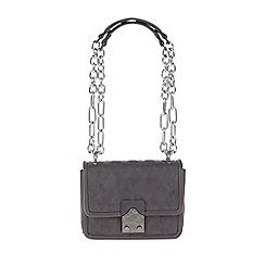 Parfois - Grey 'Royal' eccentric cross bag