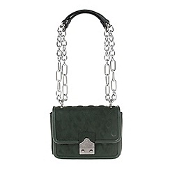 Parfois - Green 'Royal' eccentric cross bag