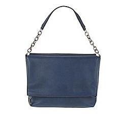 Parfois - Navy Blue 'Flora' cross bag