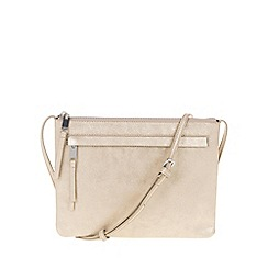 Parfois - Gold clutch bag
