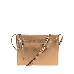 Parfois - Dark Gold 'Figo' cross bag