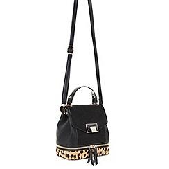 Parfois - Black 'Simba' backpack bag