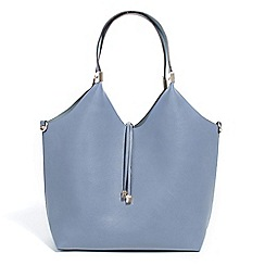 Parfois - Mid blue top in all shopper bag