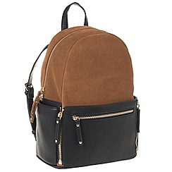Parfois - Camel 'Terracota' backpack