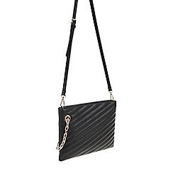 Parfois - Black 'Nolita' clutch