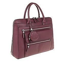 Parfois - Wine Red 'Dixon' briefcase