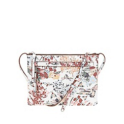 Parfois - White 'Figo' cross bag