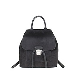 Parfois - Black Metallic backpack