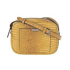 Parfois - Yellow 'Indi' cross bag