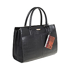 Parfois - Black 'Indi' briefcase