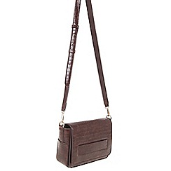 Parfois - Brown 'Alaska' cross bag