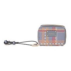 Parfois - Grey 'Metallic' cozy wallet