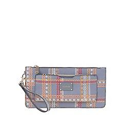 Parfois - Grey 'Metallic' cozy multi-purpose pouch