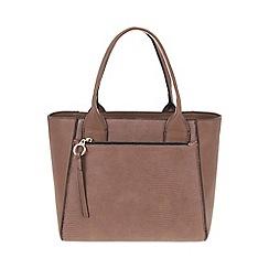 Parfois - Camel 'Warm' tote bag