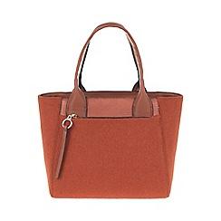 Parfois - Orange 'Warm' tote bag