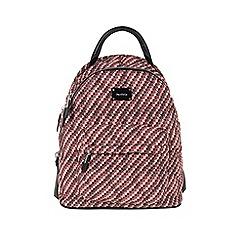 Parfois - Orange 'Nylon Warm' backpack