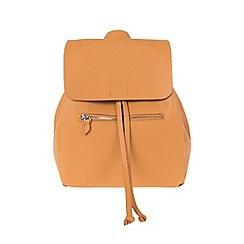 Parfois - Mustard Yellow 'Mallorca' backpack