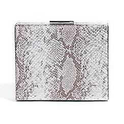 Parfois - Silver dandy clutch