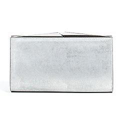 Parfois - Silver everest clutch