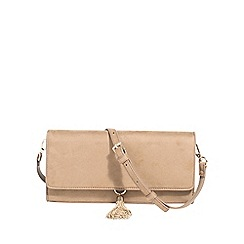 Parfois - Beige bell handbag