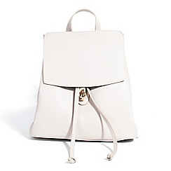 Parfois - Off white abbey backpack