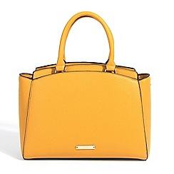 Parfois - Yellow start plain tote bag