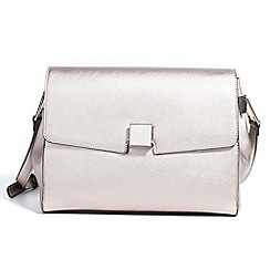 Parfois - Silver start cross bag