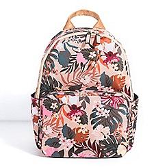 Parfois - Beige excess backpack
