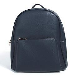 Parfois - Navy plain backpack hand bag