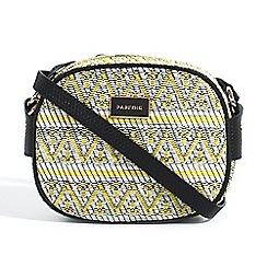 Parfois - Yellow sand cross bag