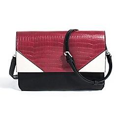 Parfois - Dark red fardi cross bag