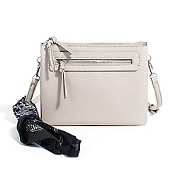 Parfois - Grey bandana cross bag