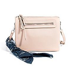 Parfois - Light cream bandana cross bag