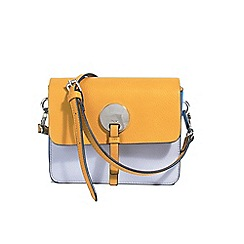 Parfois - Yellow Stripy cross bag