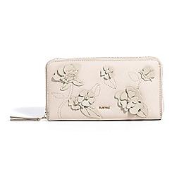 Parfois - Light cream birds garden wallet