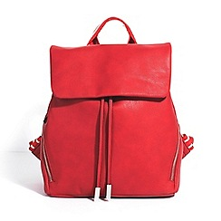 Parfois - Red jean backpack