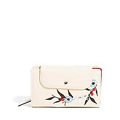 Parfois - Light cream jean wallet