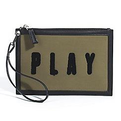 Parfois - Khaki padded multi-purpose pouch