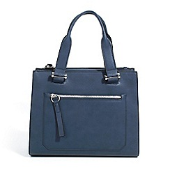 Parfois - Navy jean shopper