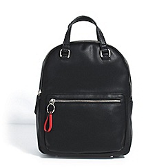 Parfois - Black jean backpack