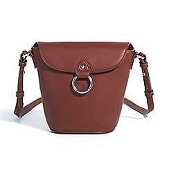 Parfois - Fawn dune cross bag