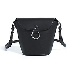 Parfois - Black dune cross bag