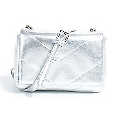 Parfois - Silver chadu cross bag